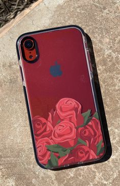 Bouquet for iPhone XR, iPhone XS / X, iPhone XS Max & iPhone 8 Plus. Shown on Red iPhone XR. Shop our entire collection of cases at Elemental Cases Cute Cases, Cute Phone Cases, Iphone Phone Cases, New Iphone, Iphone 8 Plus, Modelos Iphone, Floral Iphone Case, Aesthetic Phone Case, Accessoires Iphone