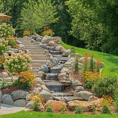 Happy Earth Day! We love the beautiful landscaping at this Stonewood home on Stubbs Bay.