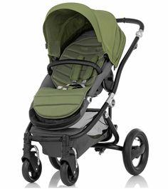 Britax Affinity Complete Stroller, Black - Cactus Green