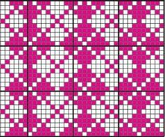 Изображение Fair Isle Вязание Pattern
