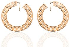 Rebecca Pink Gold Bronze Earrings (BMTOPB44) for $225 at DarcysFineJewelers...   See conta.cc/GDSTBK to receive 25% discount.