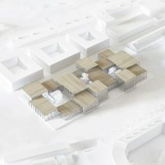 Playing with the grown-ups - competition for architecture school in Aarhus - Trend Heilige Architektur 2019 Box Architecture, Concept Architecture, School Architecture, Aarhus, Casa Patio, Arch Model, Modelos 3d, Concept Diagram, School Design
