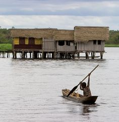 Nzulezu, Ghana. Nzulezo overlooks the Lake Tadane, and is entirely made up of stilts and platforms. In 2000, it was nominated as a UNESCO World Heritage Site, and it is a major tourist attraction area. It is not known why the village has been built over the water, the main activities of its inhabitants is agriculture, while the fishery plays a secondary role. The lake is however perceived by the local population to protect against certain risks (e.g. a fire)