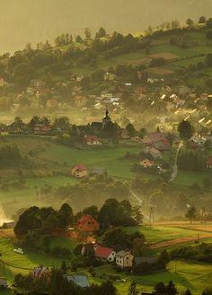 The last sunrays #  Istebna, Poland