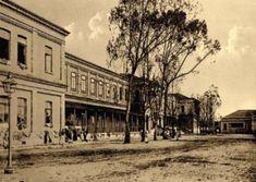 Vista interna da Hospedaria dos Imigrantes em 1905. São Paulo (SP).