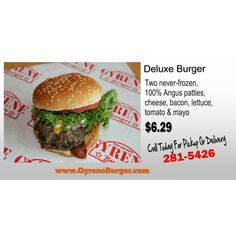 #GyreneDeluxeburger ************************************************* Order Online Now ➡️ www.GyreneBurger.com 281-5426  #Happy1stYear #GyreneBurger1stYear #burger #knoxville #burgers #fortsanders #tennessee #cumberland #Gyrene #LocalKnoxvilleEvent #knoxvillebestburger #gyreneburgerkx #gyreneburger #burgerrestaurant #knoxvilleburgerrestaurant #knoxvilleburger #universityoftennessee #ut #dominospizza #tommonaghan #robwynkoop #visitknoxvilletn #semperfi #semper #fi #HappyHalloween2014…