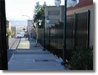 PC detention gate Fence Builders, Wrought Iron Fences, Gate, Sidewalk, Portal, Side Walkway, Walkway, Walkways, Pavement