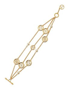 Triple-Strand+Charm+Bracelet+by+Tory+Burch+at+Neiman+Marcus.