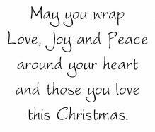 words for christmas cards