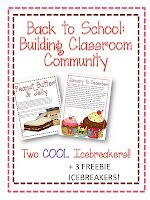 A Not So Wimpy Teacher's Manual: Back to School: Building Classroom Community with Icebreakers!!!