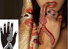 Henna Tattoo Kits Uk : Pack henna stencils from £ 🇬🇧 uk based fast shipping