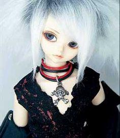 gothic lolita style doll