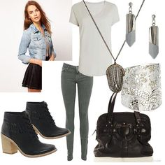 Casual Outfits for Women   create an outfit women s outfits casual edgy