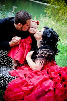 #red #wedding #dress #gothic #alternative #offbeat #bridal #gown #fairytale red wedding dress from weddingdressfantasy.com