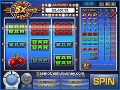 Jackpot Five Times Wins is a 3-line and 3-reel online slot from Rival. This is largely the same game that the studio released just a couple of months before this announcement, but without the progressive jackpot.  more this way...   http://www.casinocashjourney.com/slots/rival-gaming/jackpot-five-times-wins.htm