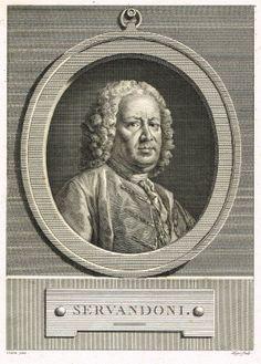 Giovanni Niccolò Servandoni (2/05/1695 - 19/01/1766) - de 1728 à 1742, Premier peintre-décorateur et directeur des machines de l'Académie Royale de Musique - Membre de l'Académie Royale de Peinture et de Sculpture.
