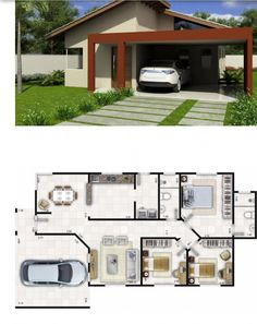 ideas for apartment architecture plans layout bedrooms Small House Plans, House Floor Plans, Layout Design, Apartment Layout, Bedroom Apartment, Bedroom House Plans, Sims House, Cool Apartments, Home Design Plans