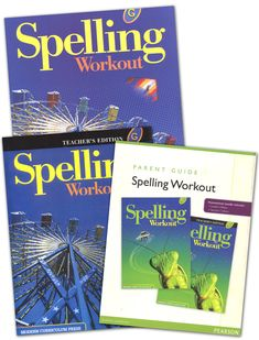 MCP Spelling Workout 2001 Homeschool Bundle G | Main photo (Cover)