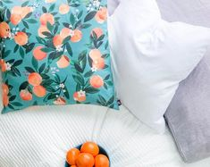 Canary Works Custom Pillow Covers by shopCanaryWorks on Etsy