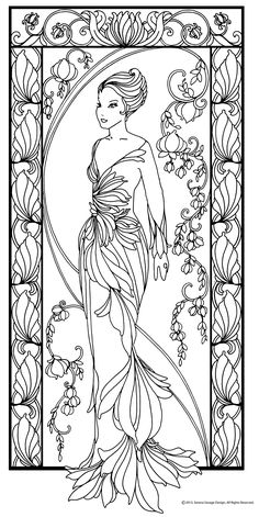 Las Serenas Coloring Book on BehanceYou can find Coloring book pages and more on our website.Las Serenas Coloring Book on Behance Abstract Coloring Pages, Fairy Coloring Pages, Adult Coloring Book Pages, Printable Adult Coloring Pages, Coloring Pages To Print, Coloring Sheets, Coloring Books, Mandala Coloring, Free Adult Coloring