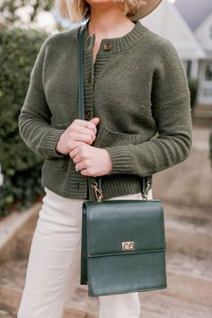 Green Cardigan Sweater | Casual Fall Outfit | Louella Reese    #cardigan #fallsweater #everydaymadewell #casualstyle #womensstyle #womensfashion #fallstyle Green Cardigan, Sweater Cardigan, Fall Sweaters, Casual Fall Outfits, Cuddling, Cozy, Sweater, Physical Intimacy, Cuddles
