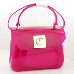 BORSA FURLA CANDY BAG SATCHEL BAG MINI DRAGON FRUIT FUCSIA - 758517 - Gheri Gherardi Showroom