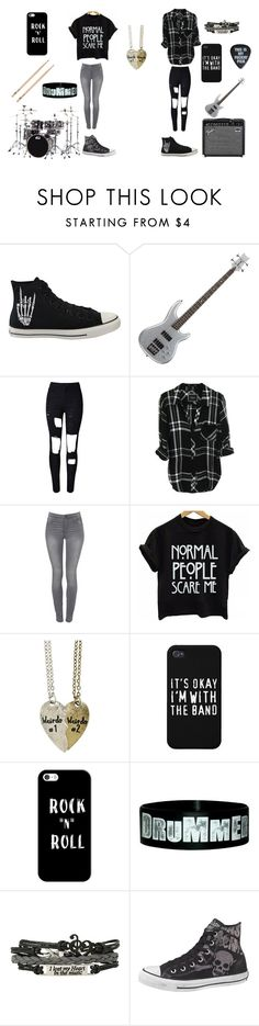 """Untitled #59"" by darksoul7 ❤ liked on Polyvore featuring Converse, WithChic, ONLY and Casetify"