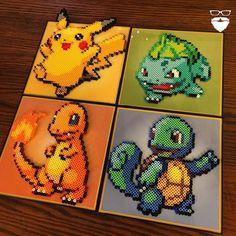 Pokemon perler bead art by Pierce Pop Art