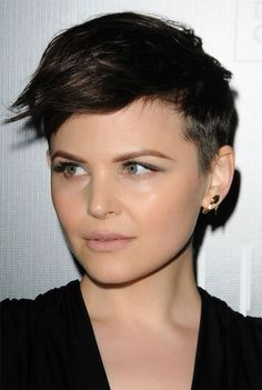 Ginnifer Goodwin undercut pixie - I love her hair. I've been trying to get this cut for months.