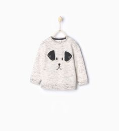Dog sweatshirt-Sweatshirts-Baby boy (3 months - 3 years)-KIDS | ZARA United States