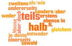 Correlations in German — Combining ideas in sentences (Marathon Sprachen Blog)