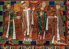 Herzog August Bibliothèque, cod. guelf 105 noviss 2°, origine : Abbaye de Helmarshausen, vers 1175-1188