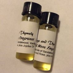 Full Moon Essential Oil Perfume (an anti-stress essential oil blend) by SageAndThymely on Etsy