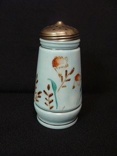 EAPG Unknown Milk Glass Sugar Shaker