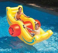 Big Sea-Saw Rocker Inflatable Swimming Pool Float