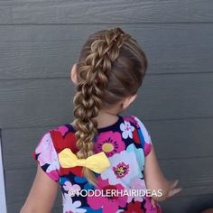 """[-VIDEO TUTORIAL-] """"How to do a 3-strand pull-through braid""""  Like I said yesterday, this is one of my favorite styles; it's gorgeous, surprisingly easy to do, and it is DURABLE! -Tips- •Start with a center line of ponies. •Put your elastics in LOOSELY, it will make """"pancaking"""" your strands much easier! •I prefer slightly DAMP hair for this style. •CUT your elastics out at the end of the day, do not pull them out! •Once you reach the bottom, combine your 2 strands together and """"pancake."""" I…"""