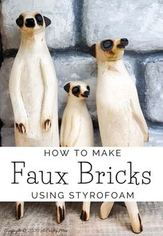 Take the traditional shadow box to a whole new level by adding faux bricks. This easy DIY tutorial will show you how to make your own shadow box in any size along with creating the faux bricks. #FauxBricksDIY #DisplayBoxDIY #ACraftyMix #BrickWallDisplaybox #DIYHomeDecor #FramedBricks Upcycled Crafts, Diy Home Crafts, Diy Craft Projects, Project Ideas, Repurposed, Paris Crafts, Barn Wood Crafts, Faux Brick, Shadow Box Frames
