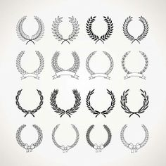 Find Set Laurel Wreaths stock images in HD and millions of other royalty-free stock photos, illustrations and vectors in the Shutterstock collection. Beautiful Lettering, Cute Fonts, Photo Stock Images, Leaf Logo, Laurel Wreath, Vector Free Download, Poster S, Free Graphics, Creative Logo