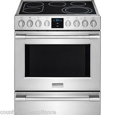 "44307 appliances Frigidaire PROFESSIONAL Stainless 30"" Electric Range Front Controls FPEH3077RF  BUY IT NOW ONLY  $1849.0 Frigidaire PROFESSIONAL Stainless 30"" Electric Range Front Controls FPEH3077RF..."