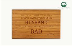 Personalized cutting board custom small bamboo chopping by TreeX, $20.00