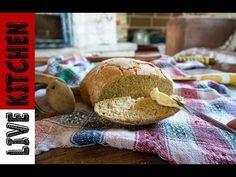 Το πιο τραγανό ψωμί κατσαρόλας χωρίς ζύμωμα - The best bread No-Knead Recipe - YouTube