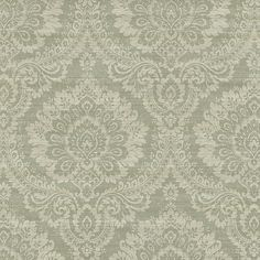 Sage Traditional Damask by Brewster Wallpaper Stores, Damask Wallpaper, Wallpaper Online, Home Wallpaper, Victorian Bath, Brewster Wallpaper, Wall Murals, Home Furnishings, Tapestry