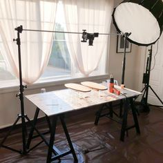 How to Make an Overhead Camera Rig for Filming and Taking Photos of Your Art Horizontally Photography Studio Setup, Photography Lighting Setup, Lighting Setups, Background For Photography, Light Photography, Food Photography, Gopro Photography, Photography Equipment, Product Photography