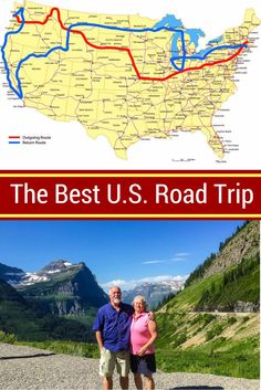A Lewis and Clark Trail Expedition ROAD TRIP: See the Route Map! - - An expert in self-publishing books and his wife took a Lewis and Clark Trail map road trip across the United States after retirement. See the route! Road Trip Map, Road Trip Hacks, Plan A Road Trip, Usa Road Map, Rv Travel, Places To Travel, Travel Destinations, Family Travel, Travel Hacks