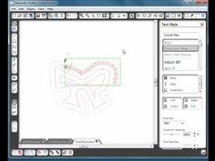 Silhouette Studio - making patterns for Rhinestones - part 3 - YouTube