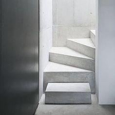 Around the corner… #ARArchitects #OpenAtelier #architecture #stair #staircase #stairwell #design #interiordesign #moderndesign #minimaldesign #stone #space #form #detail https://instagram.com/p/7dLmP6uN9r/