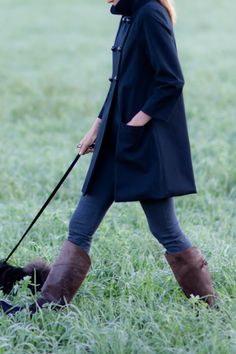 boots and peacoat