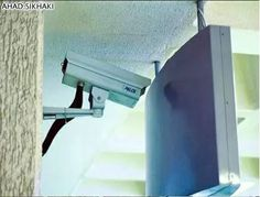 Footage from this CCTV camera would be a bit boring...!!