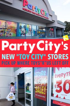 "c7aad26c8 Party City s New ""Toy City"" Stores Pick Up Where Toys""R""Us Left Off"