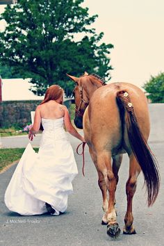 Equestrian Wedding by the Gypsy Mare Photography.